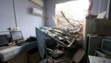 Çin'de Hasta ve doktorlar içindeyken hastane yıkıldı